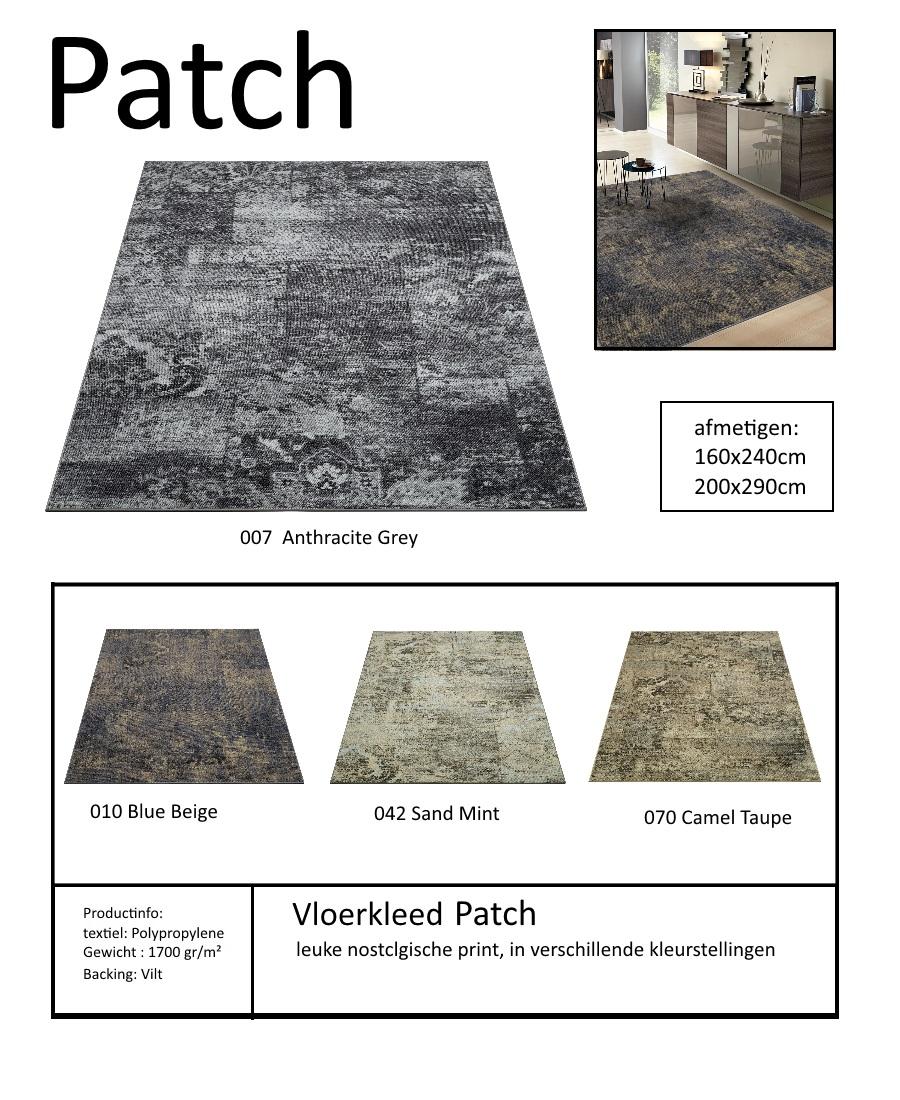 tapijt met print